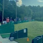 First tee driving range